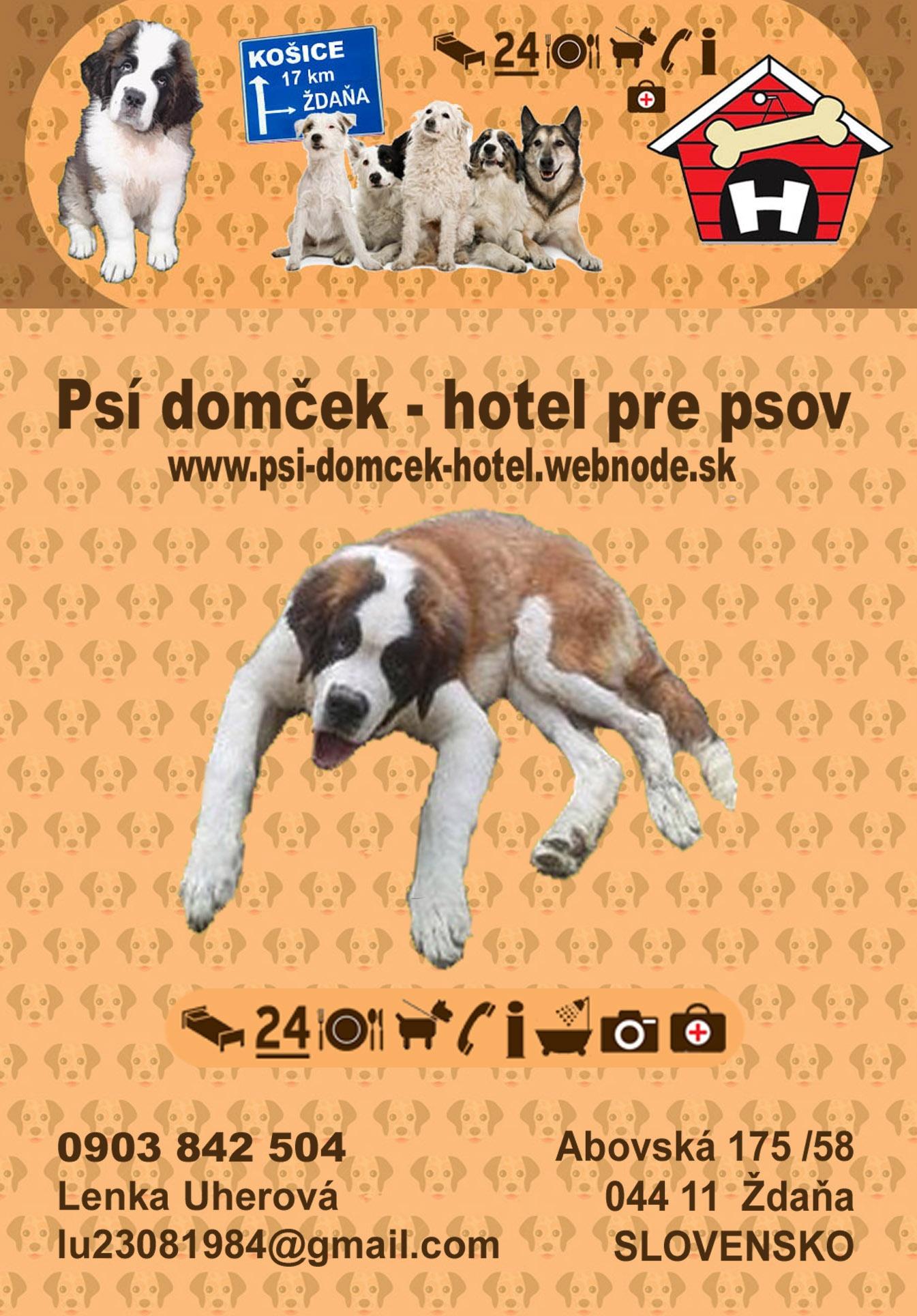Psí domček - hotel pre psov  a3cba4395be