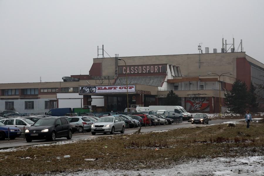 Miesto konania - hala Cassosport