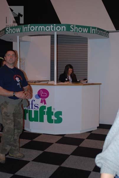 CRUFTS 2011 Informačný stánok